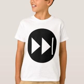 Fast Forward Button Symbol T-shirt