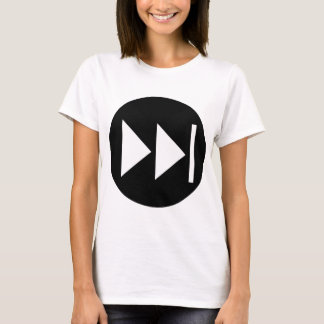 Fast Forward Button Symbol T-Shirt