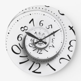 Fast Forward Time Spiral Clock