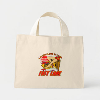 Fast Lane 40th Birthday Gifts Mini Tote Bag