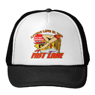 Fast Lane 70th Birthday Gifts Cap