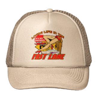 Fast Lane 70th Birthday Gifts Cap