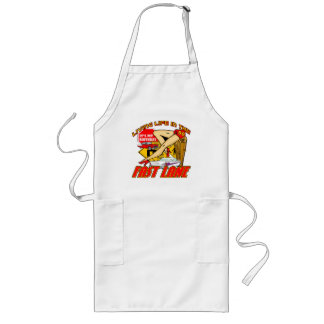 Fast Lane 90th Birthday Gifts Long Apron