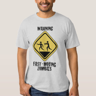 Fast Moving Zombies Light Shirt