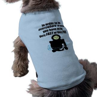 Fast or Fat Sleeveless Dog Shirt