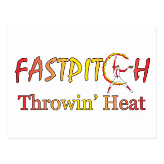 Fast Pitch Softball Version 1 Post Cards