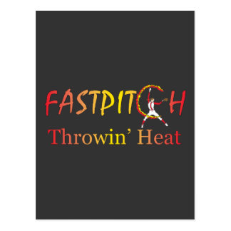 Fast Pitch Softball Version 1 Postcard