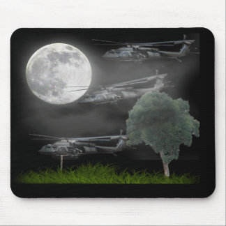 Fast rope chopper special ops mouse pad