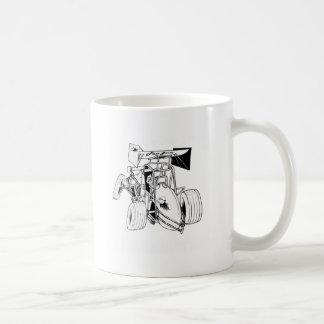 Fast Sprints Sprint Car Series Basic White Mug