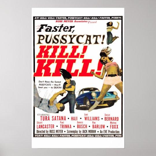 Faster, Pussycat! Kill! Kill! Vintage Movie Poster