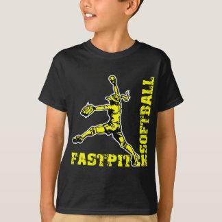 Fastpitch Corner, yellow T-Shirt