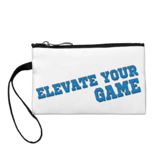 FastPitch Fit Elevate Your Game Jewelry/Coin Bag Change Purse