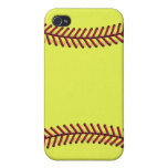 Fastpitch softball 1 iPhone 4/4S cases