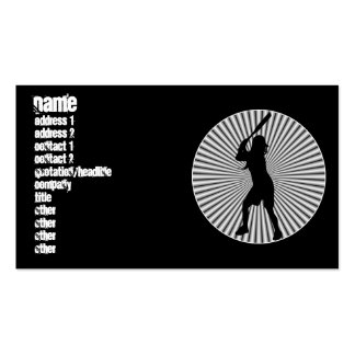 Fastpitch Softball Batter Profile Cards Pack Of Standard Business Cards