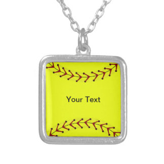 Fastpitch Softball Fashion Necklace