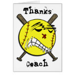 Fastpitch Softball Greeting or Note Card