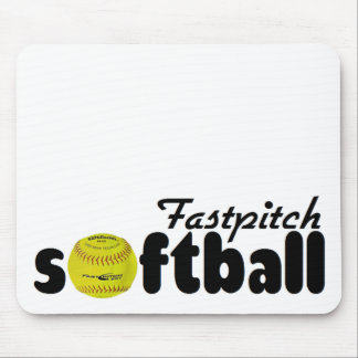 Fastpitch Softball Mouse Pads