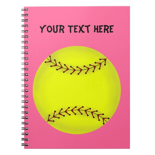 Fastpitch Softball Notebook
