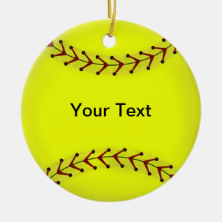 Fastpitch Softball Ornament