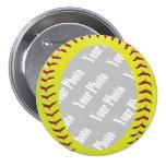 Fastpitch Softball Photo Template Pins