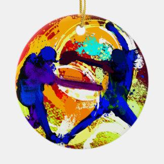 Fastpitch Softball Players Christmas Ornament