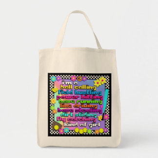 Fastpitch Softball Players Tote Bag