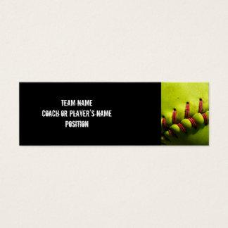 Fastpitch Softball Profile Card