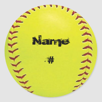 Fastpitch Softball Sticker