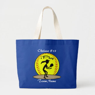 Fastpitch Softball Tote Bag