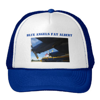 Fat Albert Blue Angels Trucker Hat