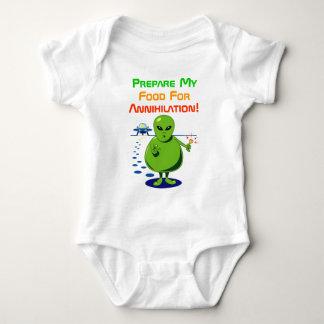 Fat Alien Invasion Baby Bodysuit