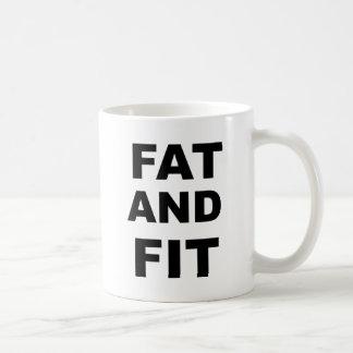 Fat and Fit Coffee Mug