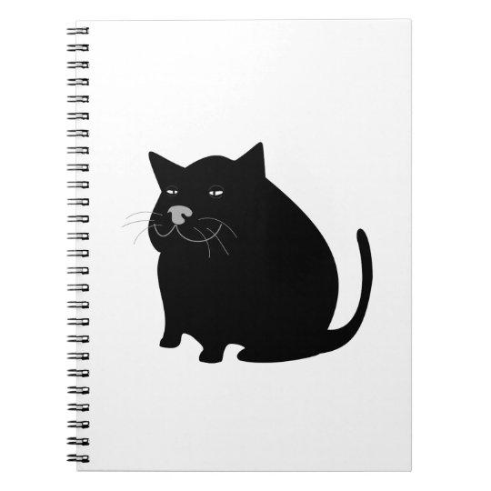 Fat Black Cat Notebooks