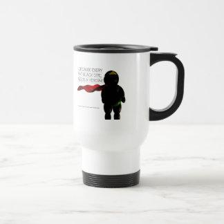 Fat Black Heroine Stainless Steel Travel Mug