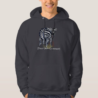 Fat Butt Zebra, [Your Own Comment] Hoodie