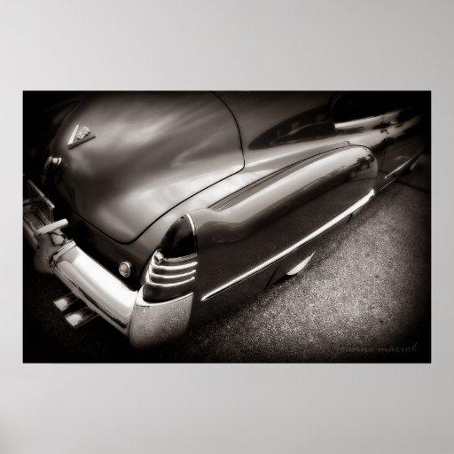 Fat Cadillac Poster Print