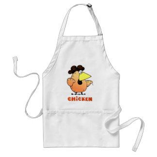 Fat Cartoon Chicken | Cute Cartoon Chick Adult Apron
