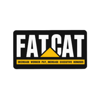 Fat Cat Address Label