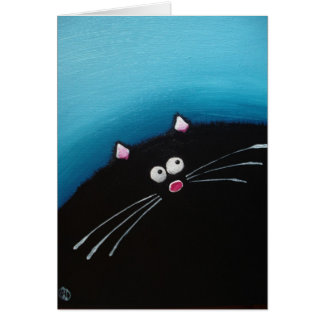 Fat cat Art Card