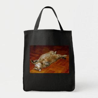 Fat Cat Canvas Bags