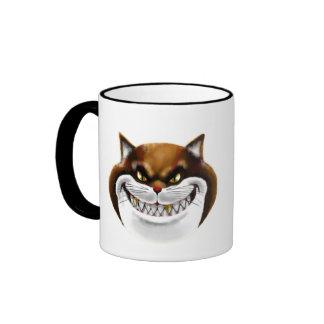 Fat Cat Face Mug