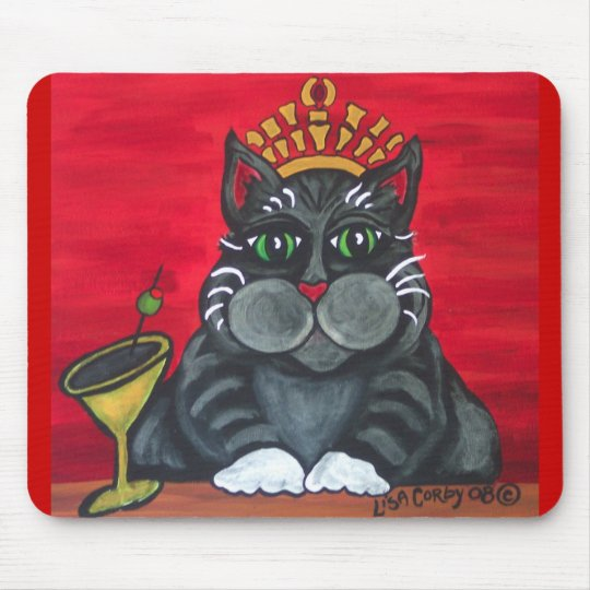 Fat Cat Happy Hour Mousepad