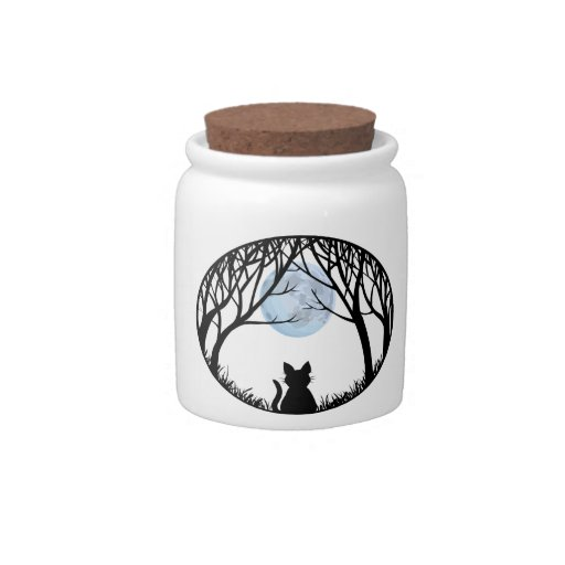 Fat Cat Jar Cat Lover Cookie Jar Personalized Gift Candy Dishes