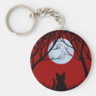 Fat Cat Keychain Black Cat Gifts Pet Keychains