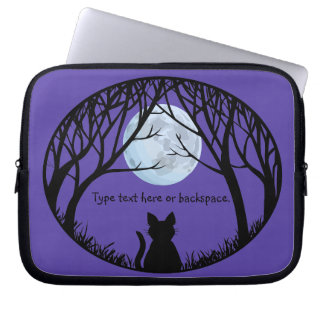 Fat Cat Laptop Sleeve Personalize Cat Lover Case