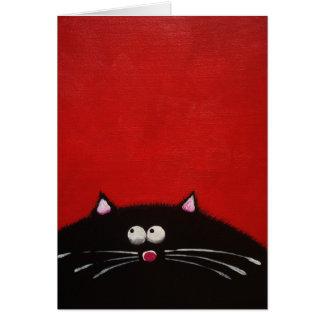 Fat Cat Note Card