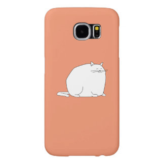 fat cat on a case
