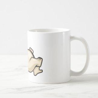 Fat Cat on Pillow Coffee Mug