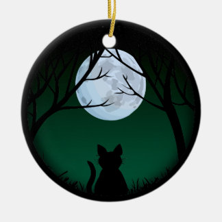 Fat Cat Ornament Personalized Cat Decoration Gift