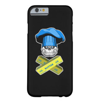 Fat Chef Skull v3 Barely There iPhone 6 Case